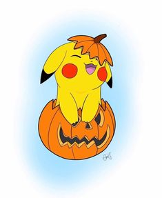 Pikachu – Pumpkin Fun, Pokemon Halloween Pikachu – Pumpkin Fun, Pokemon Halloween Related posts: Video Game Crafts 'N Gear The Pokemon Pumpkin Halloween Special! Pikachu Drawing, Pikachu Art, Cute Pikachu, Cute Pokemon, Pokemon Halloween, Halloween Art, Halloween Window, Halloween Rocks, Pokemon Mew