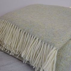 not on the highstreet. Sage Herringbone Shetland Throw - blankets & throws