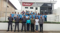 """Projeto de Leitura da Casa da Cultura """"Rui Reis"""" teve a honra de visitar o Destacamento da Policía Militar de Rifaina, para uma comemoração à Semana da Pátria."""