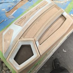 Day 3 in the books a lot of detail. Press grill made, parts gapped for material. Wrapping this up first thing in the morning. Camaro Interior, Mustang Interior, Automotive Upholstery, Car Upholstery, Custom Car Interior, Truck Interior, Custom Car Audio, Car Audio Systems, Pt Cruiser