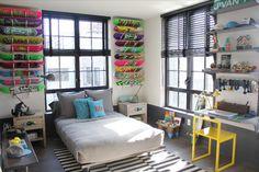 Idea for Skater Shayne's room.