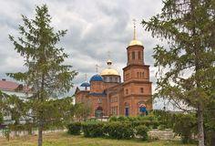 Храм в Красносамарском