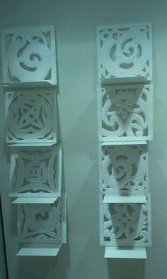 Carved polystyrene!