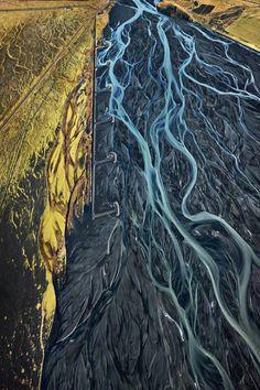 From overhead, Edward Burtynsky