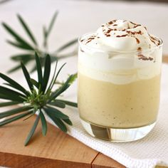 Eggnog recipe.  it looks so tempting. . . but i'm just not sure my lactose intolerance would be kind to me after.