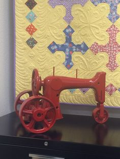 My sewing machine tractor-Love it! Just need to add some custom McCormick Deering decals