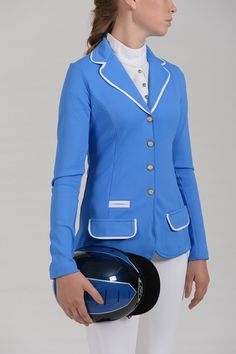 Spooks Show Jacket in Azure Blue- spotted this in store today- love Spooks