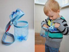 Идеи для хранения разных детских сокровищ из пласиковых бутылок   mamaexpert.ru