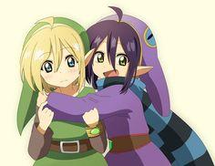 Link and Ravio