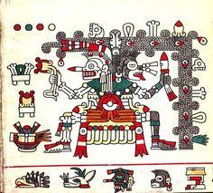 FAMSI - John Pohl's - Ancient Books - The Borgia Group - Codex Laud