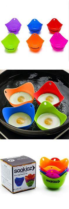 Double Egg Poacher Perfect Poached Eggs In A Saucepan Egg