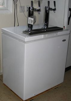 DIY Kegerator (built into chest fridge)