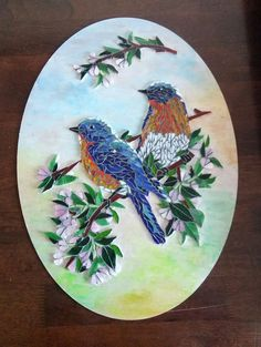 Mosaic Crafts, Mosaic Projects, Mosaic Art, Stone Mosaic, Mosaic Glass, Stained Glass, Mosaic Animals, Mosaic Birds, Colorful Paintings