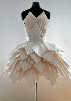 Paper Pleat Dress