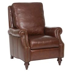 Hooker Furniture Inch Wide Leather Recliner from the Conlon Col Dark Walnut with Savannah Brown Indoor Furniture Chairs Recliner Hooker Furniture, Leather Furniture, Home Office Furniture, Leather Chairs, Brown Furniture, Leather Sofa, Red Leather, Brown Leather Recliner, Leather Recliner Chair