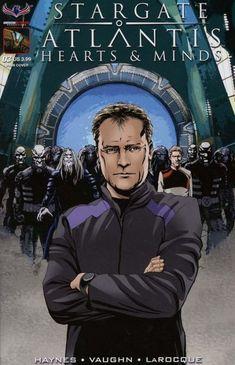 Vault 35 Stargate Atlantis Singularity #2 Cover A NM 2018 American Mythology