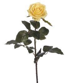 27.5'' Confetti Rose Spray Yellow/Cream