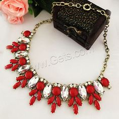 More luxury #Necklace,  with #rhinestone, the best choice for young girl.