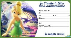 Carte d'invitation gratuite à télécharger et à imprimer (invitation anniversaire...): Spiderman, Chevalier, Pirate, Reine des Neiges, Clochette... Diy Invitation, Content Media, Disney Princess, Disney Characters, Children, Books, Spiderman, Pinocchio, Peter Pan