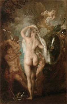 Jean-Antoine Watteau, The Judgement of Paris