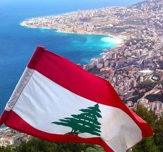 awesome view of beirut with the lebanon flag waving proud! photo by tony el saneh Lebanon Food, Beirut Lebanon, Lebanon Independence Day, Lebanon Culture, Ramadan Poster, Teen Titans Fanart, Faith Of Our Fathers, Mount Lebanon, Thinking Day
