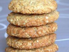 Cookies aux flocons d'avoine et à la noix de coco