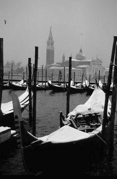 Venice in the snow