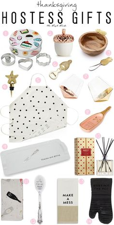 The Blush Blonde: Hostess Gifts: Thanksgiving