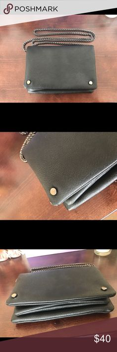 Bcbgeneration crossbody black handbag Beautiful chain crossbody bag. Feel free to ask any questions. It's in okay condition. Very clean, just a few scuffs on the metal. Super fast shipping BCBGeneration Bags Crossbody Bags