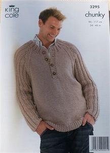 Knitting Pattern Mens Chunky Jumper : Mens jumpers knitting patterns on Pinterest Jumpers, Alpacas and Knitt...