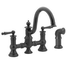 Moen Waterhill 2-Handle High Arc Kitchen Faucet at Menards