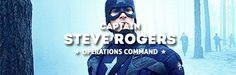 Captain Steve Rogers, operations command
