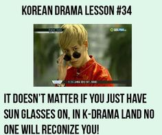 Unless getting mobbed helps the plot.  #kdramahumor