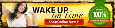 Wake Up On Time is the first product of its kind, taken BEFORE bed to help wake you up in the morning.  The magic behind this product is the special coating over the tablets that delays the initial release of the ingredients.  It offers all natural products to help you to look and feel your best.  #WakeUpOnTime