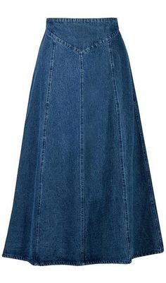 A-Line Denim Skirt You are in the right place about wrap Skirt Here we offer you the most beautiful pictures about the Skirt 2019 you are looking for. When you examine the A-Line Denim Skirt part of t Skirt Outfits Modest, Denim Skirt Outfits, Denim Overalls, Ripped Denim, White Denim, A Line Denim Skirt, Long Denim Skirts, Long A Line Skirt, A Line Skirts