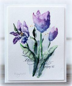 More tulips.... | Rapport från ett skrivbord | Bloglovin'