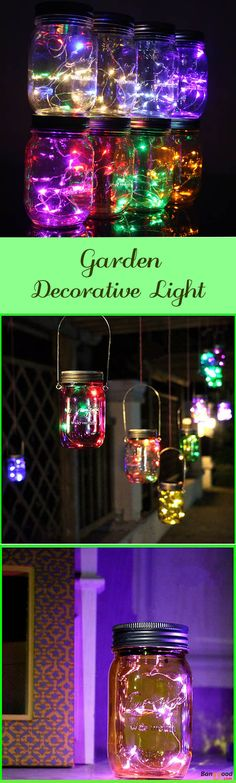 US$18.50 + Free shipping. Halloween light Solar Power Hanging Glass Jar Lamp 8 LED Beads Garden Courtyard Landscape Decor Light. 9 Colors to choose. #party #festivals #halloween #thanksgiving #christmas #decor #homedecor #garden #lights #lighting #art #shopping #gifts #diy #crafts