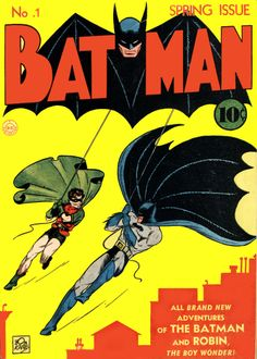 Batman #1. Batman's first solo issue. It also includes the first appearances of The Joker Catwoman.