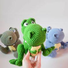 Rex crochet pattern - Free Pattern