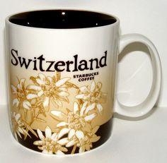 Starbucks City Mug, Switzerland