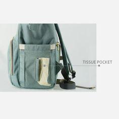 Sunveno Mummy Maternity Nappy Changing Bag Large Capacity Baby Travel Backpack