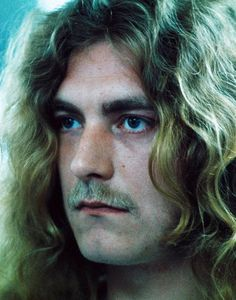 Robert Plant with mustache