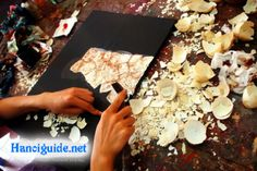Ha Thai traditional lacquer-ware village 1/2 day | Hanoi Discovery