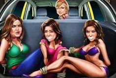 Indiase Ford-reclame leidt tot ophef. Zo denkt met in busverkrachtersland India dus over vrouwen...