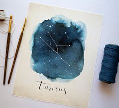 This listing is for an 8x10 print of my original watercolor and calligraphy painting. All prints are printed on high-quality Epson Ultra Premium