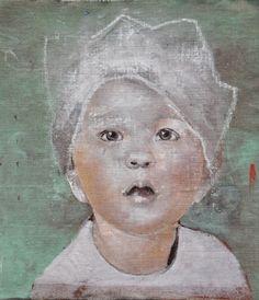 Portretten en kinderportretten   Edith Snoek L'art Du Portrait, Abstract Portrait, Portrait Paintings, Art Paintings, Figure Painting, Painting & Drawing, Painting Abstract, Acrylic Paintings, Graphic Illustration
