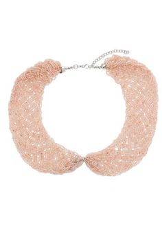 TOPSHOP's Seeded Bead Peter Pan Necklace...$30