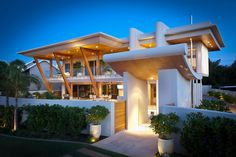 The Applecross House by Brian Burke Homes in Perth, Australia is a luxurious…