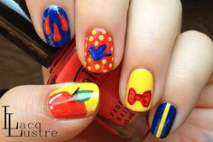Snow White nail art