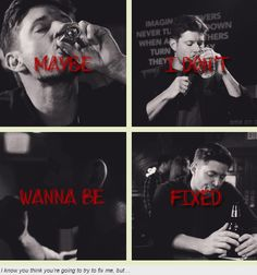 Demon!Dean - maybe I don't wanna be fixed
